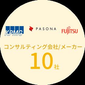 コンサルティング会社/メーカー 10社